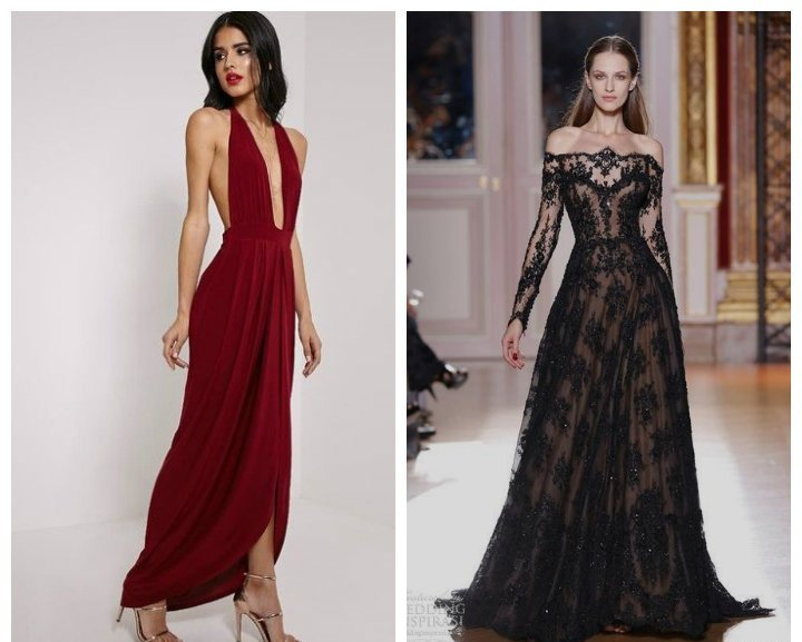 Robes soirée 2018։ les tendances principales des robes de soirée