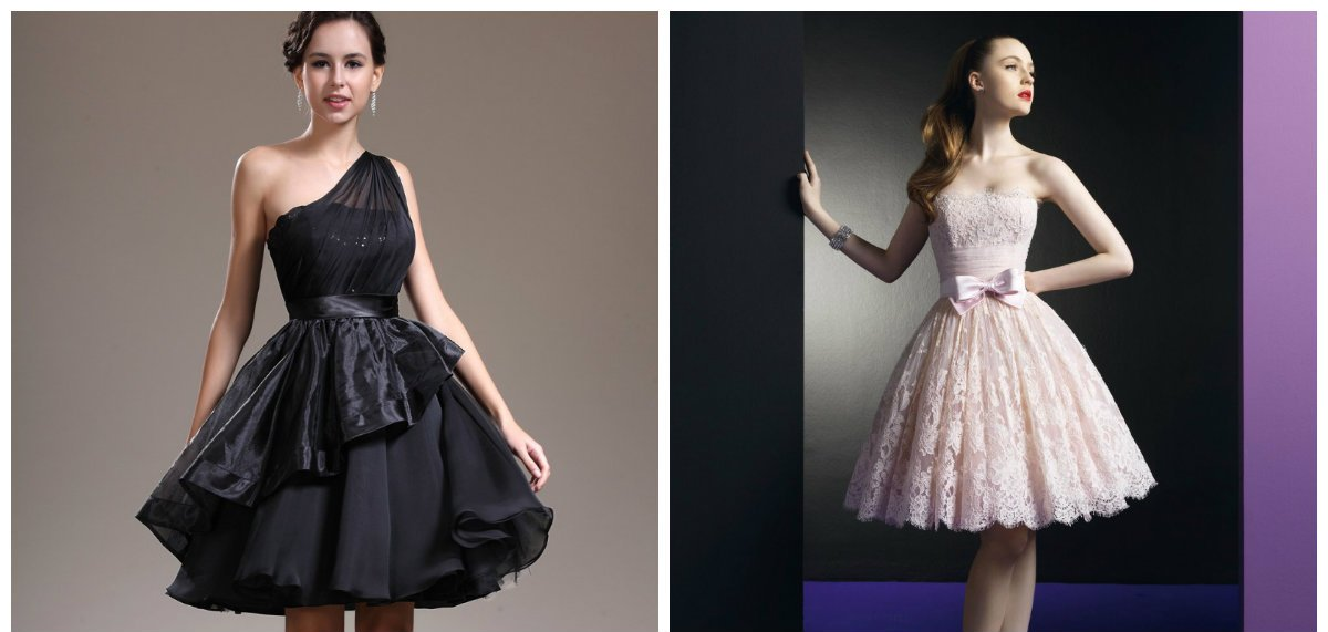 La robe de cocktail 2018 est séduisante, brillante et noble.