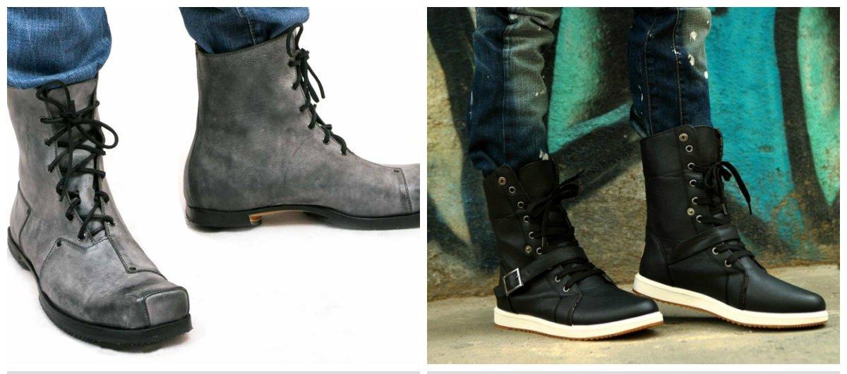 Les styles différents des chaussures homme 2018 sont présentés par des concepteurs