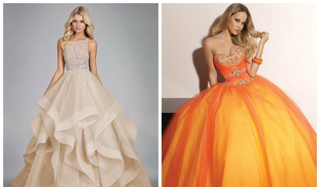 Robes de bal 2018: conseils pour choisir une élégante robe de soirée