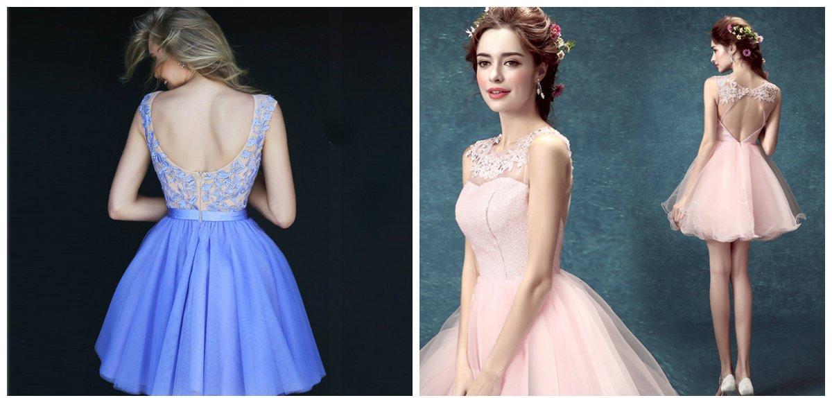 Les modèles avec un corset sont les modèle les plus populaires des robes de bal 2018