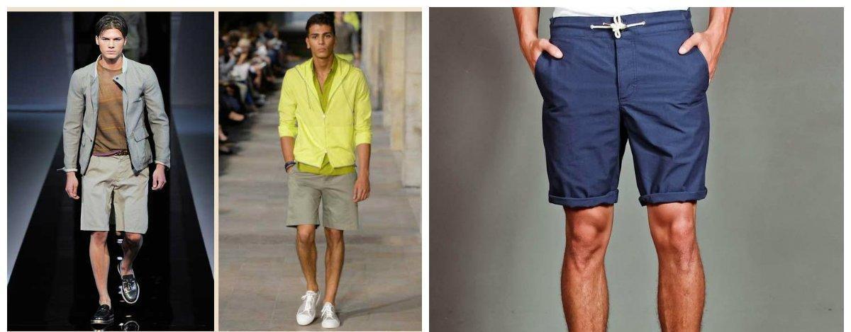 Les concepteurs offrent une grande variété de styles de short homme 2018