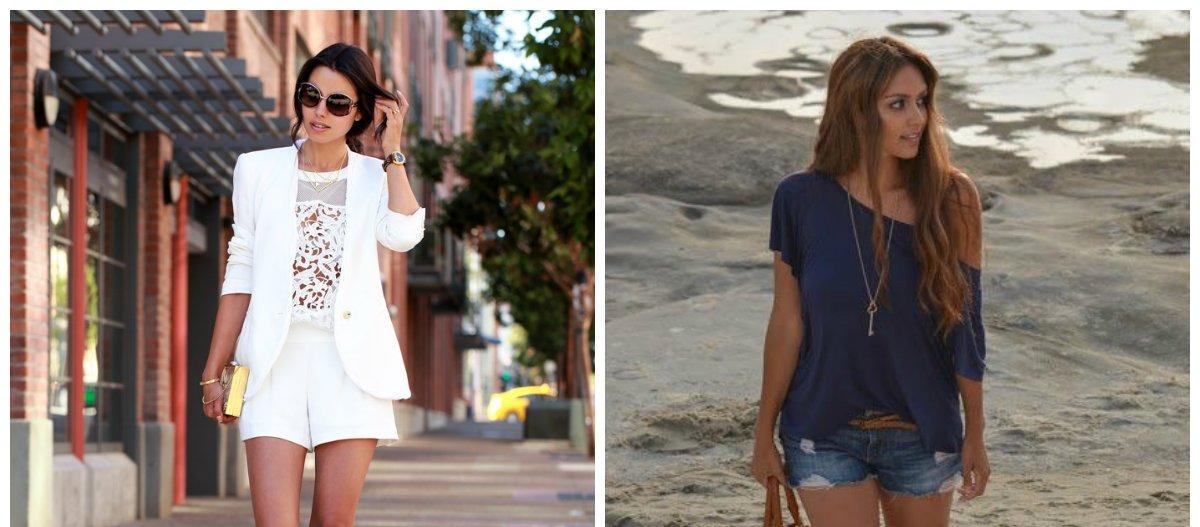 Short femme 2018: les tendances de la mode des shorts