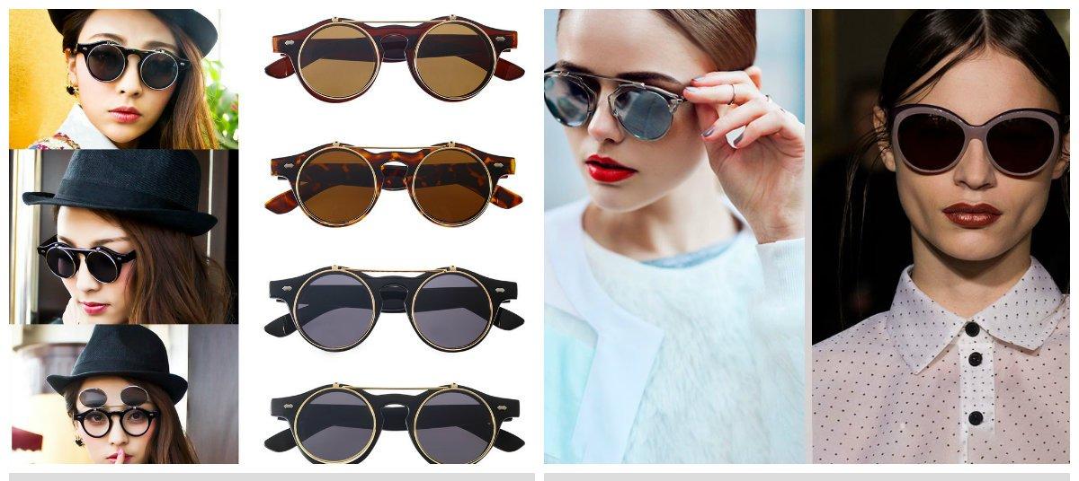 Les concepteurs ont offert une variété de styles de lunette femme 2018