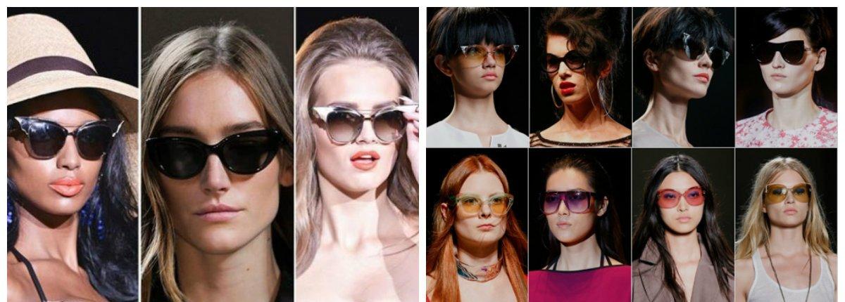 Lunette femme 2018: les tendances pour les lunettes de soleil 2018