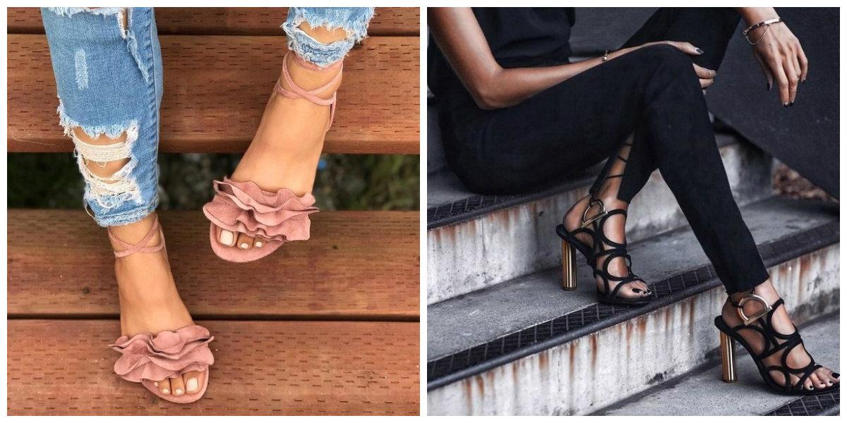 Chaussures d'été femme 2019: les tendances des chaussure d'été