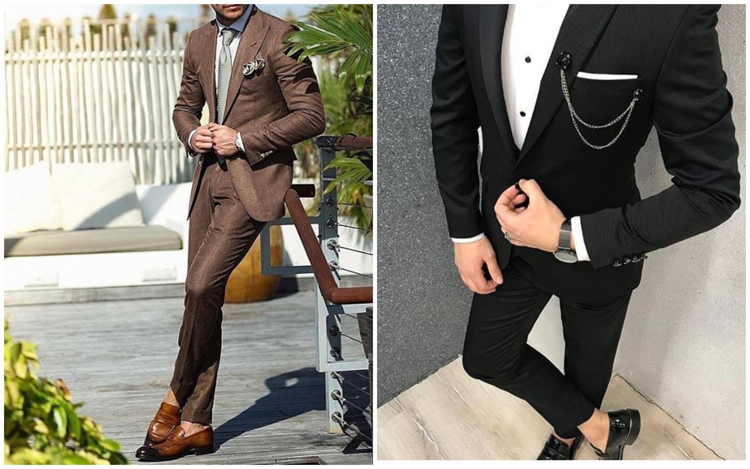 Costumes pour hommes 2020: tendances principales pour hommes