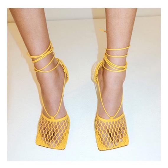 Chaussures à bout carré pour femme 2021