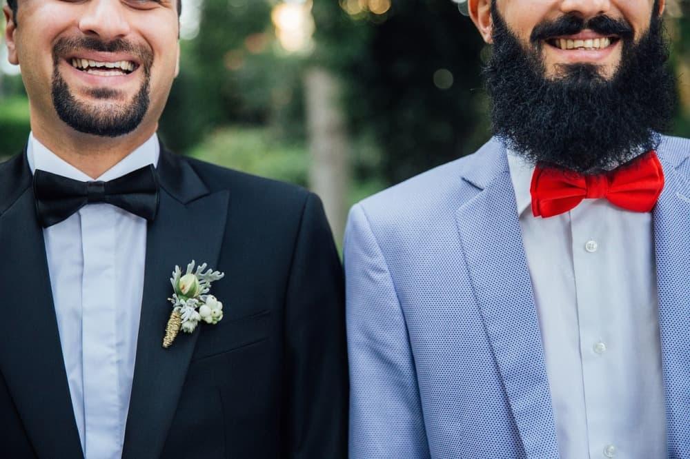 Costumes de mariage noirs