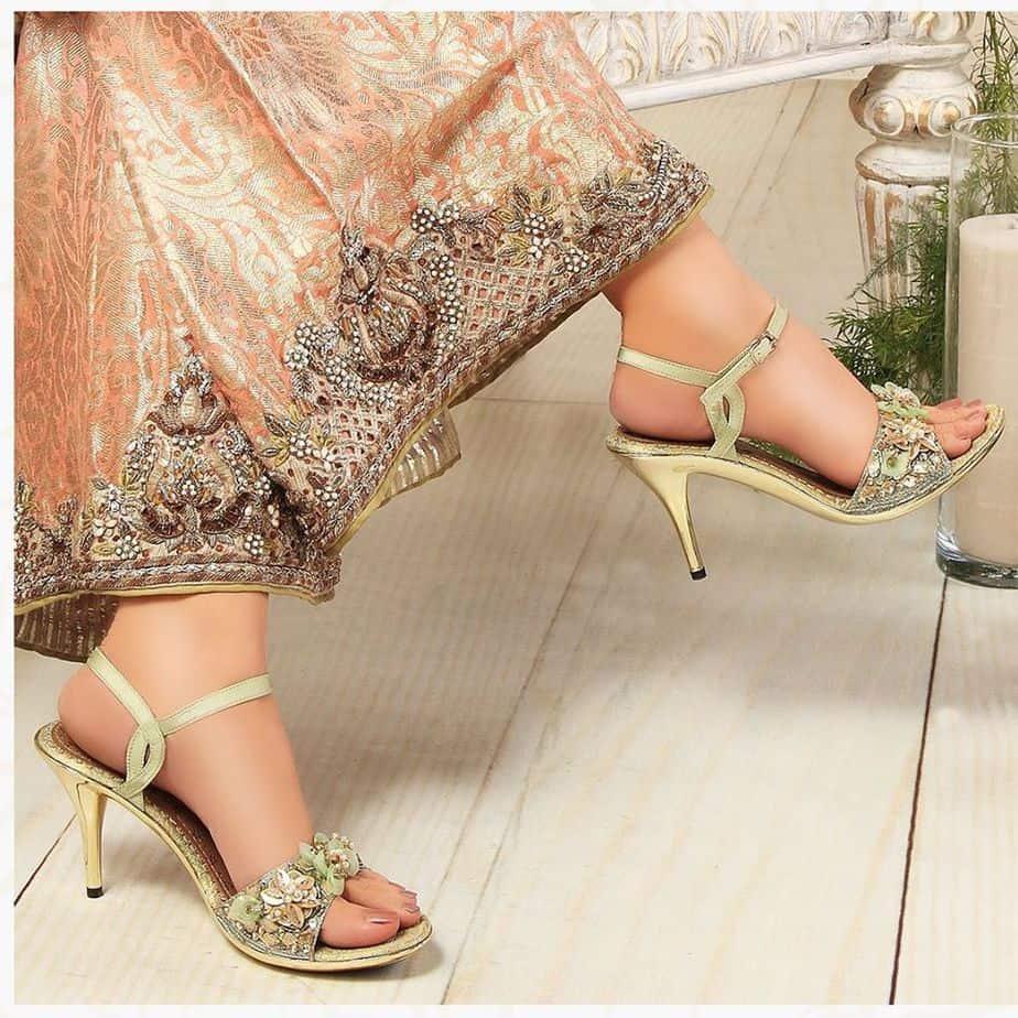 Chaussures d'été 2021 à talons fantaisie