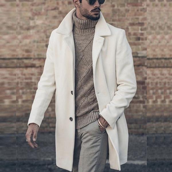 Manteau homme 2021: choix de couleur