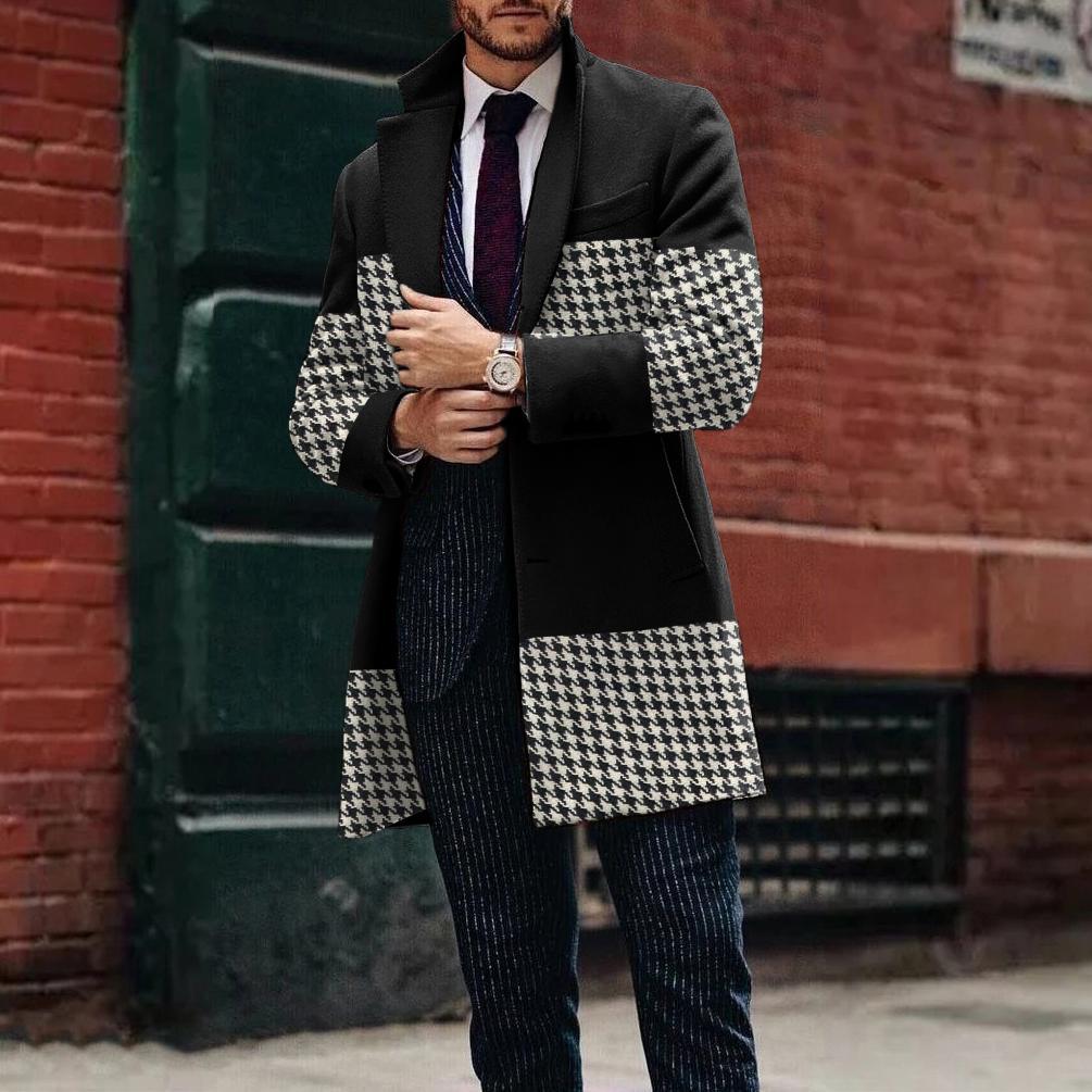 Manteaux d'hiver surdimensionnés pour hommes 2021