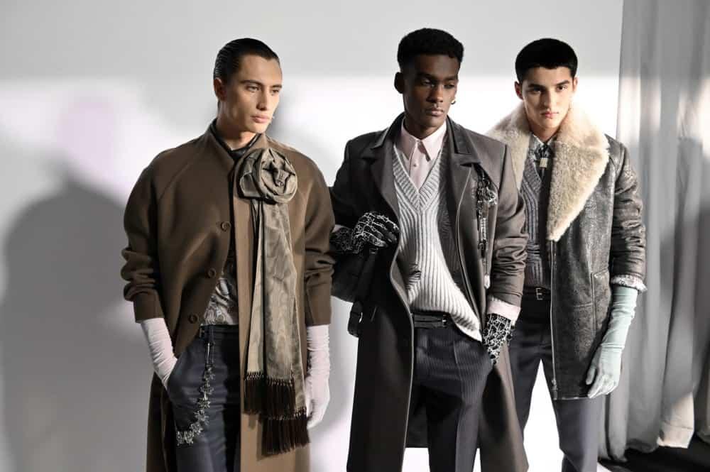 Matériaux pour le manteau homme 2021