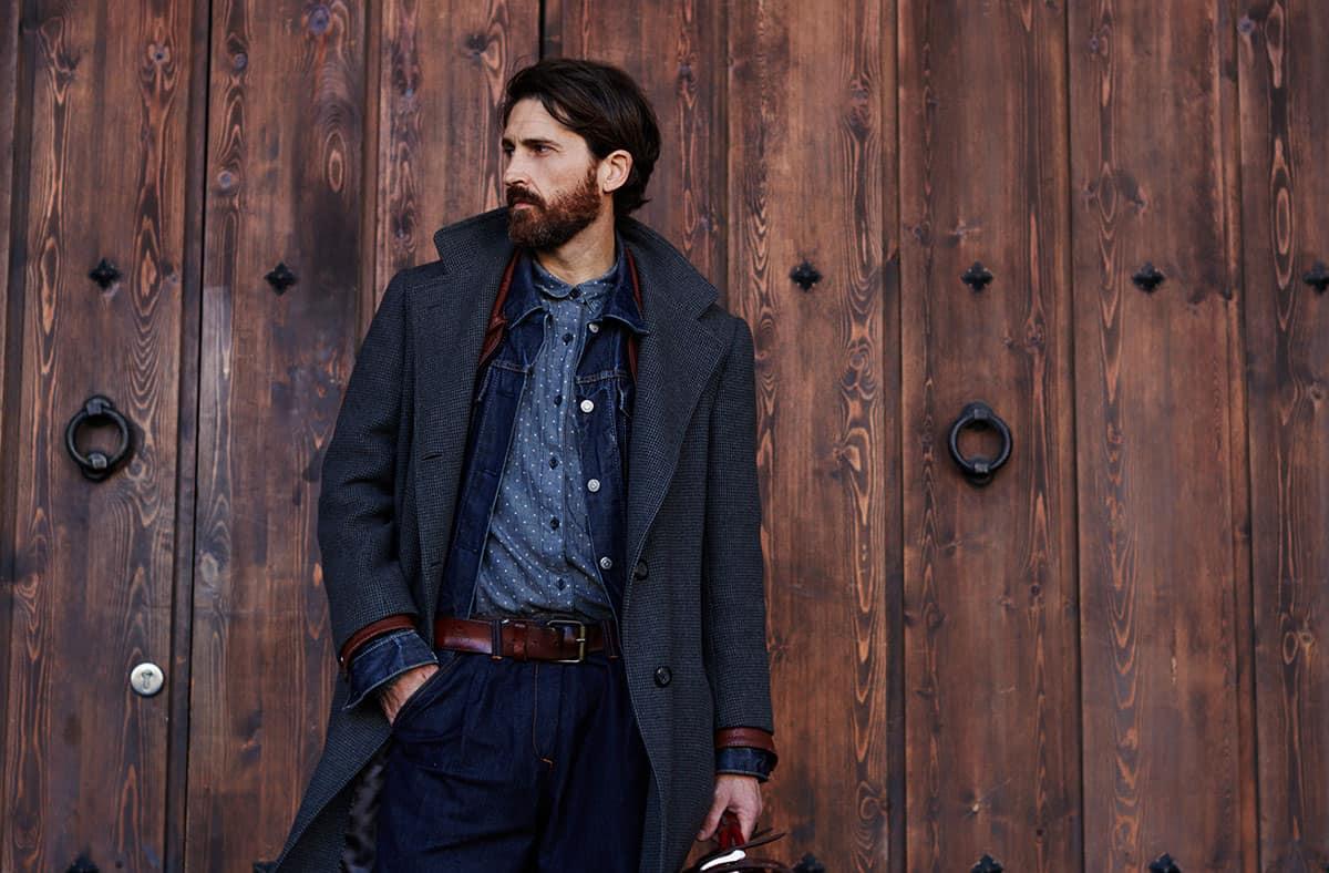 Manteaux élégants pour hommes 2021: manteau à revers droit