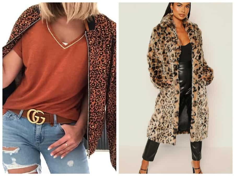 Imprimés léopard et floraux dans les manteaux 2021