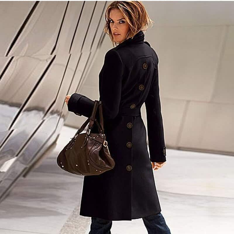 Manteaux en laine de style blazer en manteaux femme hiver 2021