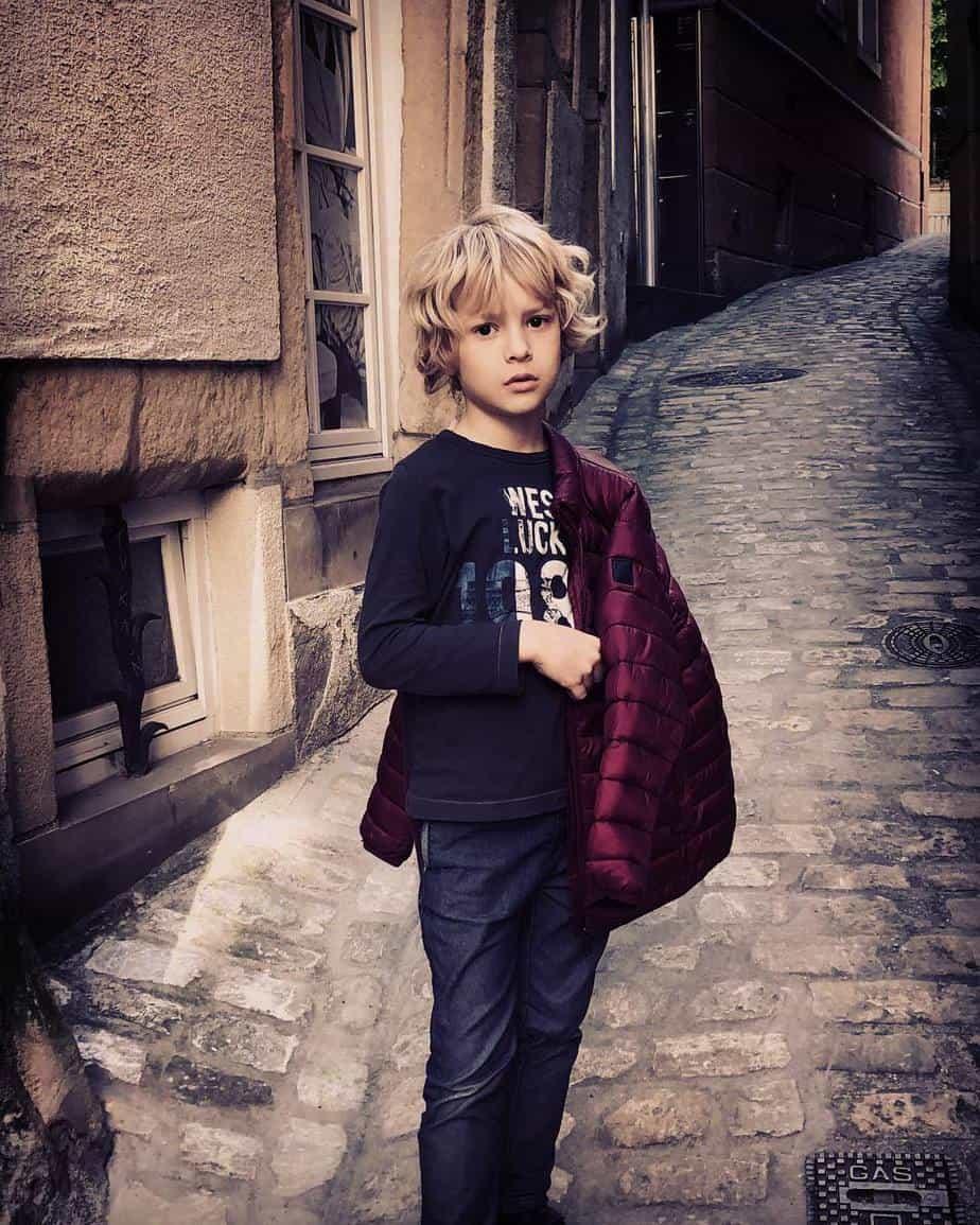 Vêtements pour garçons 2021 pour la période automne-hiver