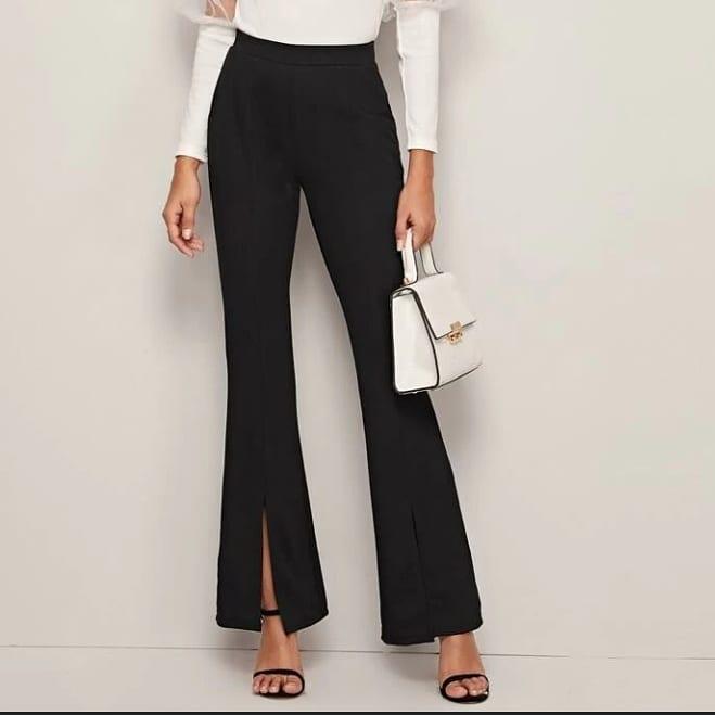 Pantalon évasé pour femme 2021