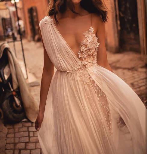 Robes de mariée à la grecque 2021