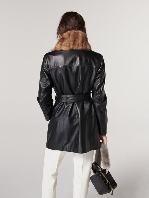 Vestes en cuir pour femme 2021