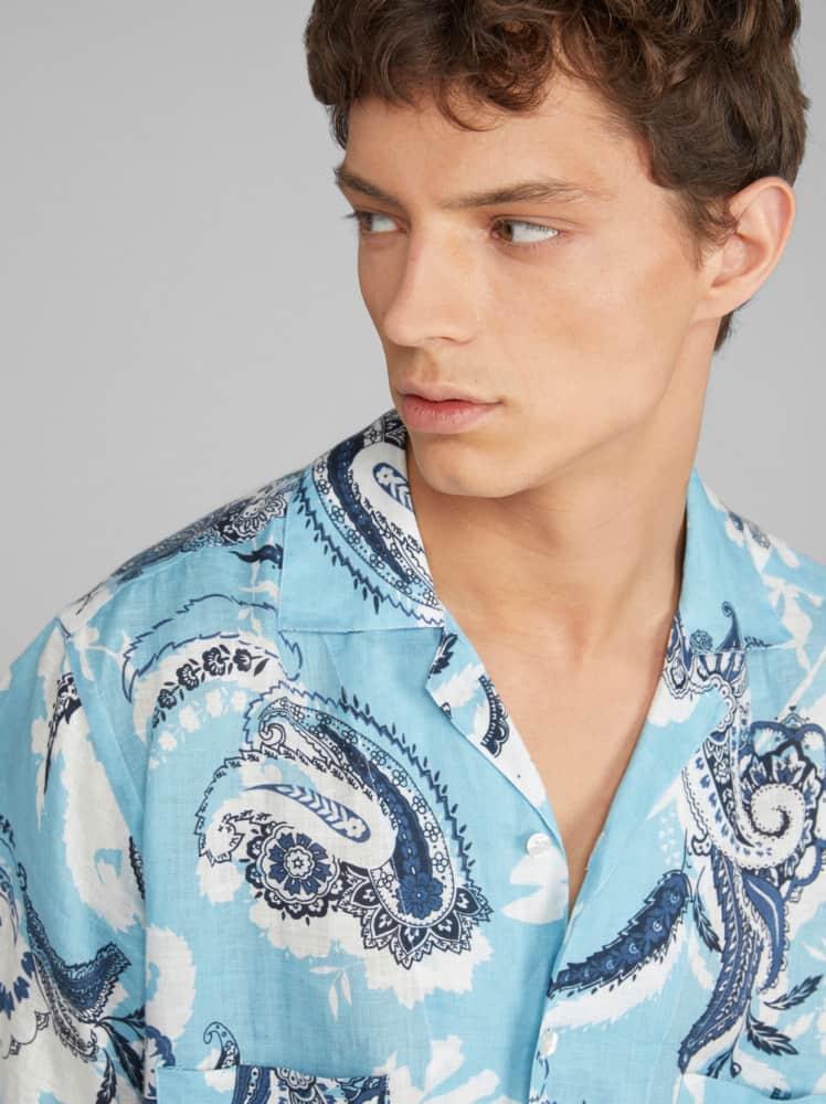 Chemises d'été homme 2021