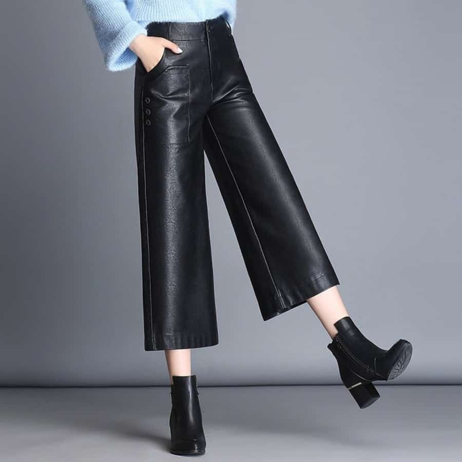 Pantalons larges dans les pantalons femme 2021